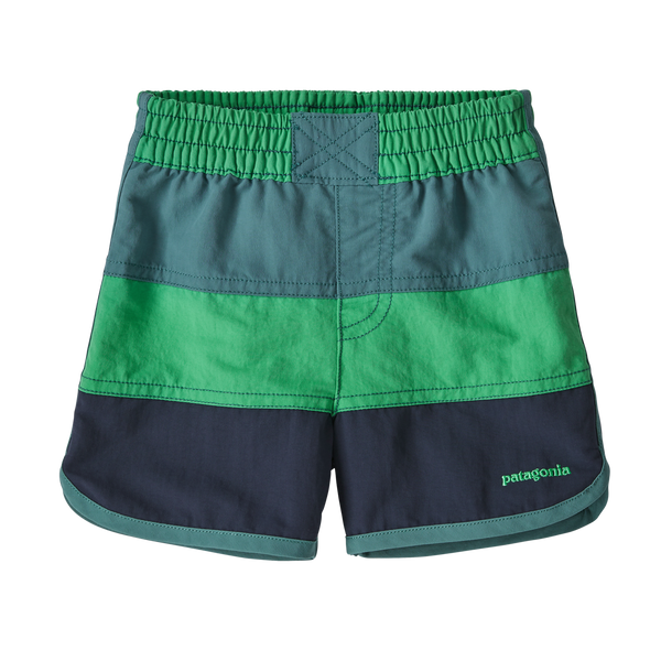 Baby Boardshorts in NETG Nettle Green by Patagonia
