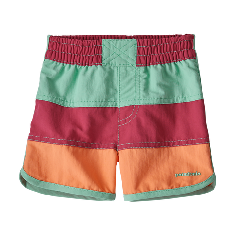 Baby Boardshorts in REPI Reef Pink by Patagonia