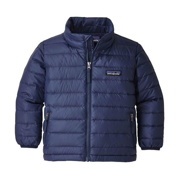 Baby Down Sweater in Classic Navy by Patagonia