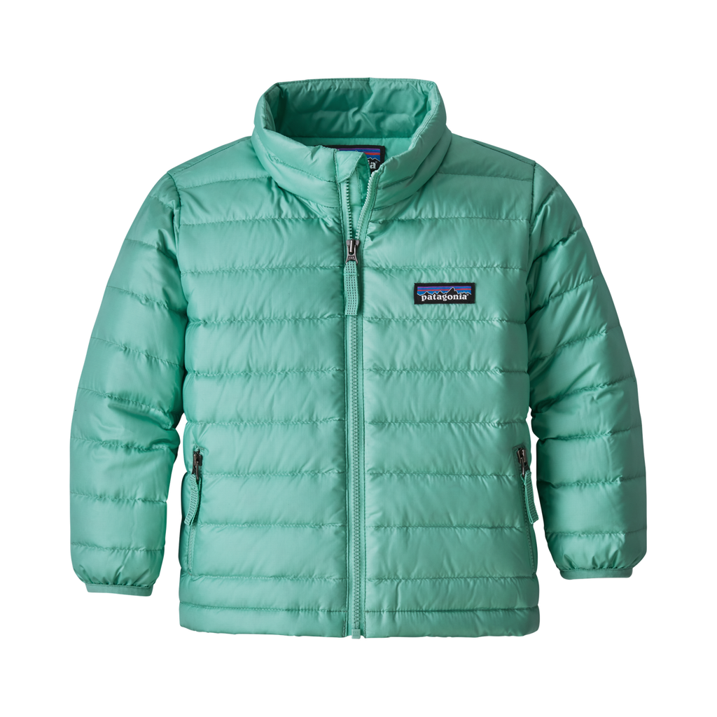 Baby Down Sweater in Vjosa Green by Patagonia