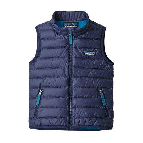 Baby Down Sweater Vest in Classic Navy by Patagonia