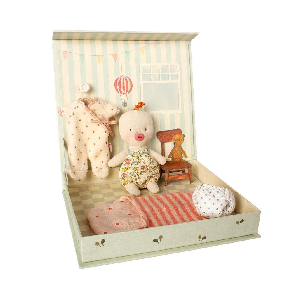 Baby Ginger Room Playset by Maileg