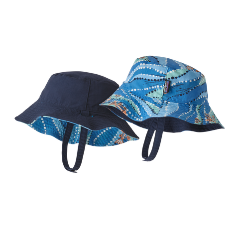 Baby Sun Bucket Hat in Bell Bay Port Blue by Patagonia