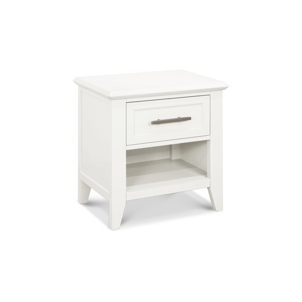 Beckett Nightstand in Warm White