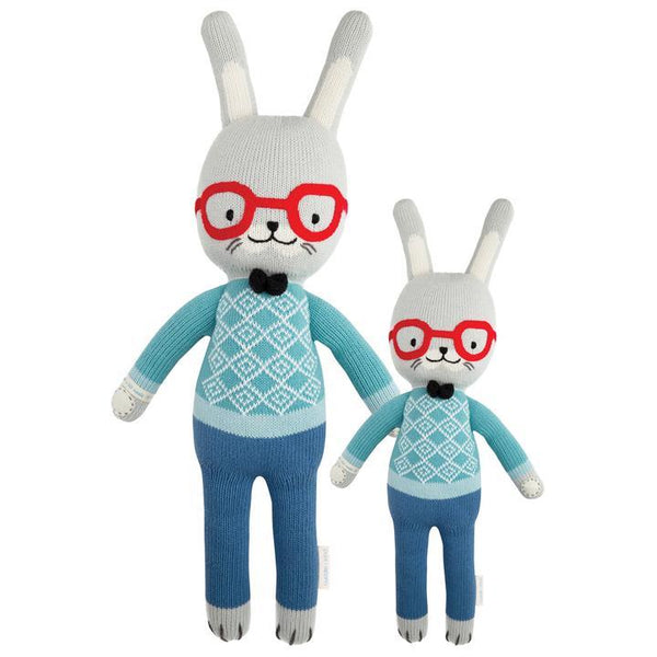 "Benedict The Bunny in Little 13"" by cuddle + kind"