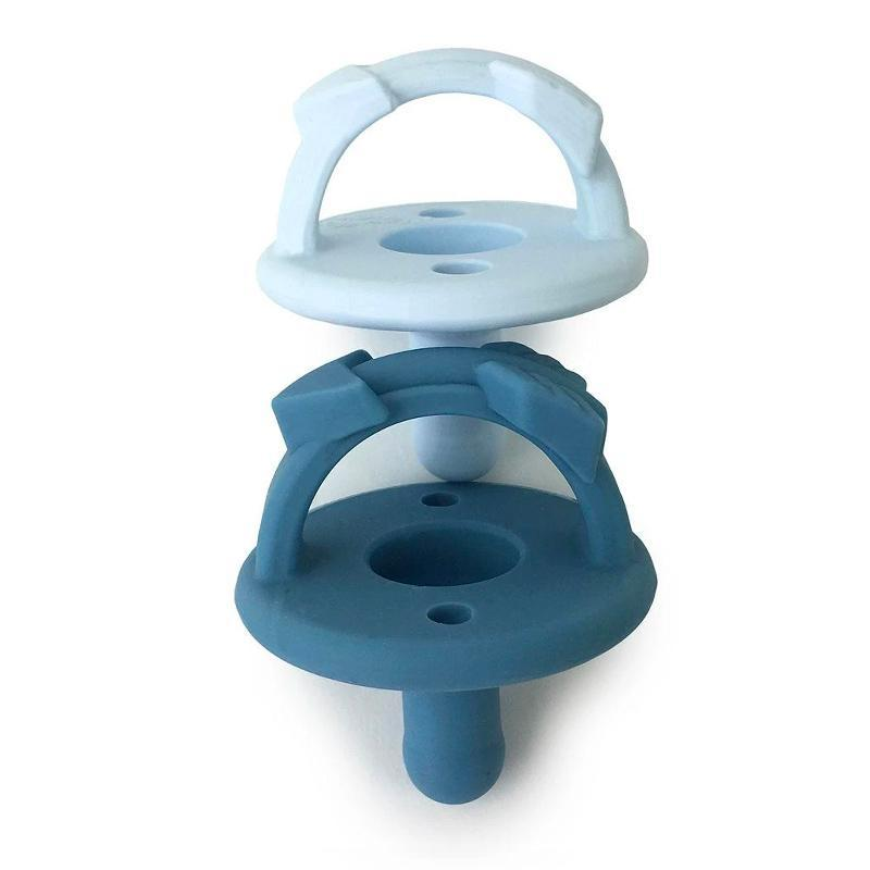 Sweetie Soother™ Pacifier Sets (2-pack) in Blue Arrows by Itzy Ritzy