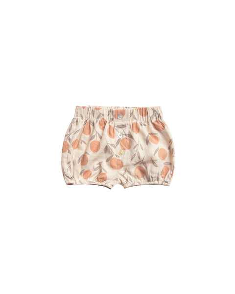 Button Short in Peaches by Rylee + Cru