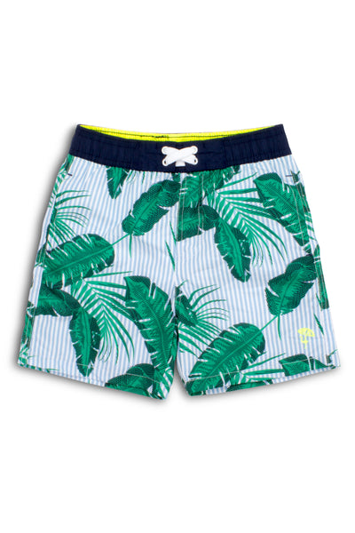 Boy Trunks in Botanical Blue by Shade Critters