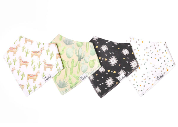 Baby Bandana Bibs in Cusco Set by Copper Pearl