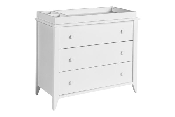 Sprout 3 Drawer Changer Dresser with Removable Changing Tray in a Variety of Colors