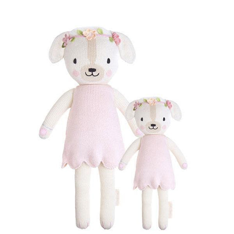 "Charlotte The Dog in Little 13"" by cuddle + kind"