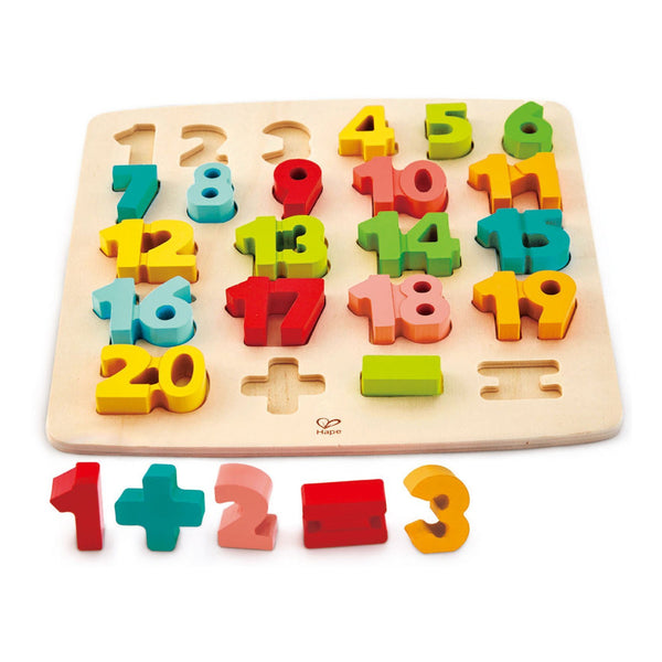 Chunky Number Math Puzzle by Hape