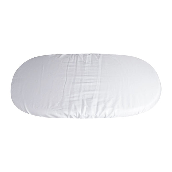 Cotton Bassinet Sheets in White