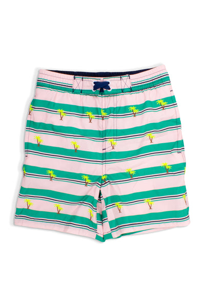 Boy Trunks in Embroidered Palms by Shade Critters