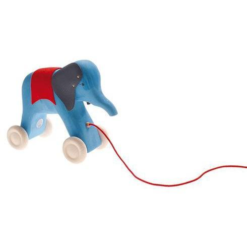 Elephant Otto Pull Along by Grimm's