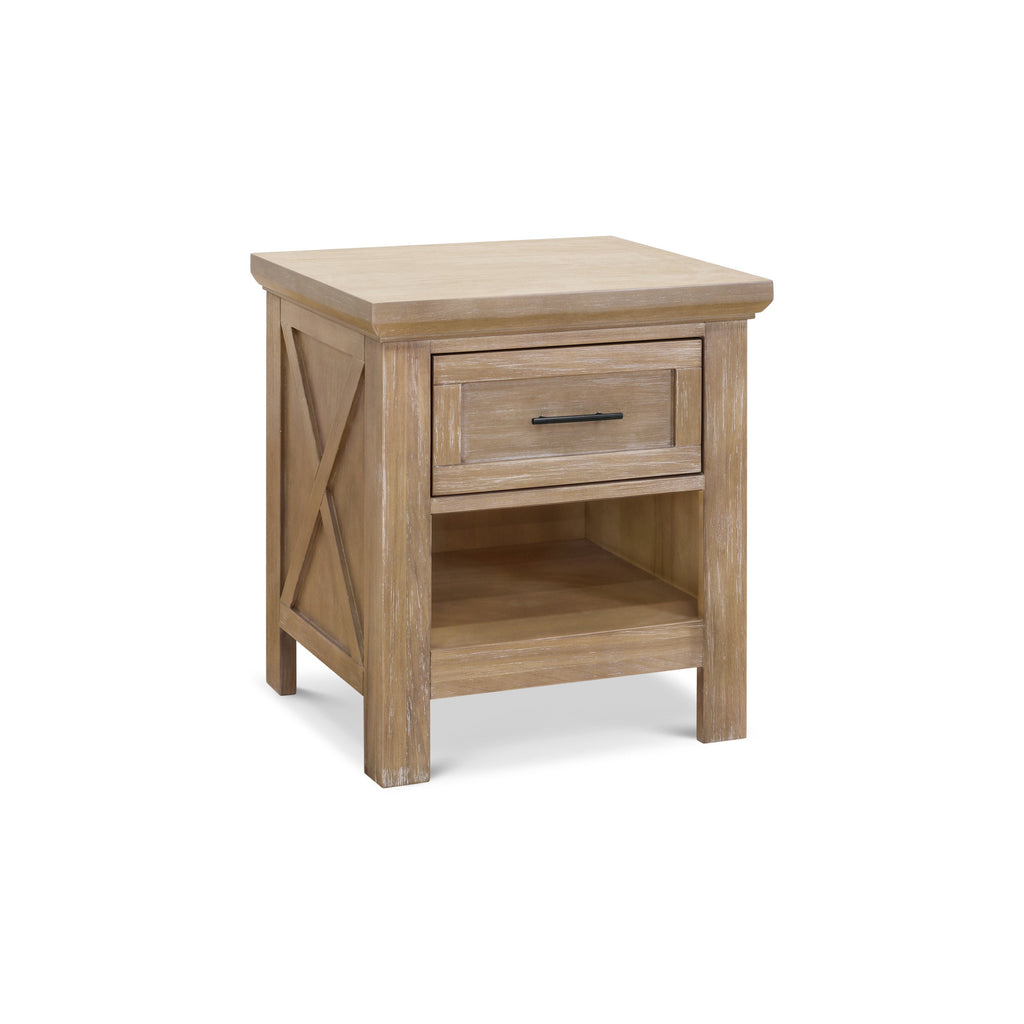 Emory Farmhouse Nightstand in in Driftwood