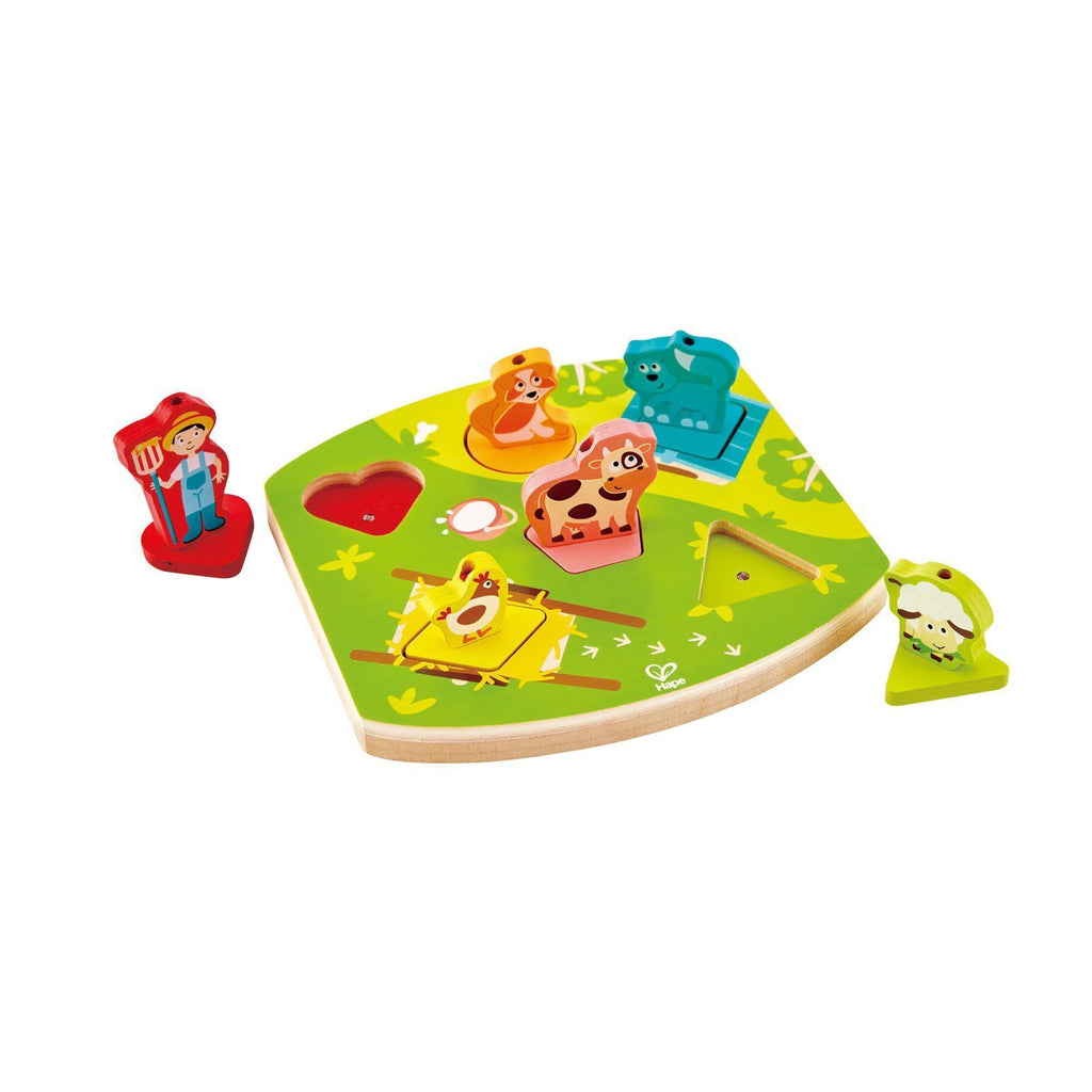 Farmyard Sound Puzzle by Hape