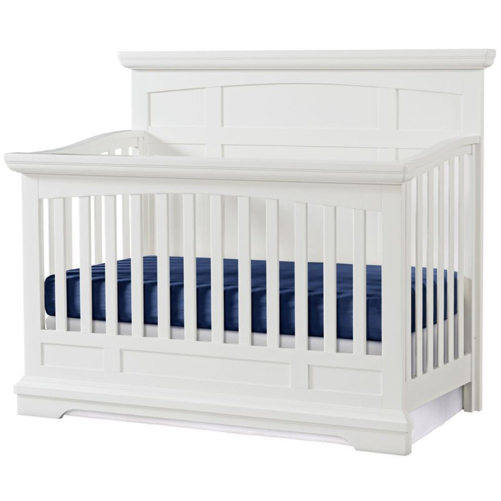 Highland Park Convertible Crib in White