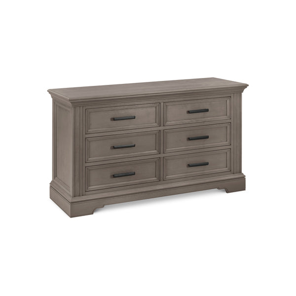 Holloway 6-Drawer Double Dresser in French Roast