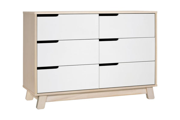 Hudson 6-Drawer Assembled Double Dresser in a Variety of Colors