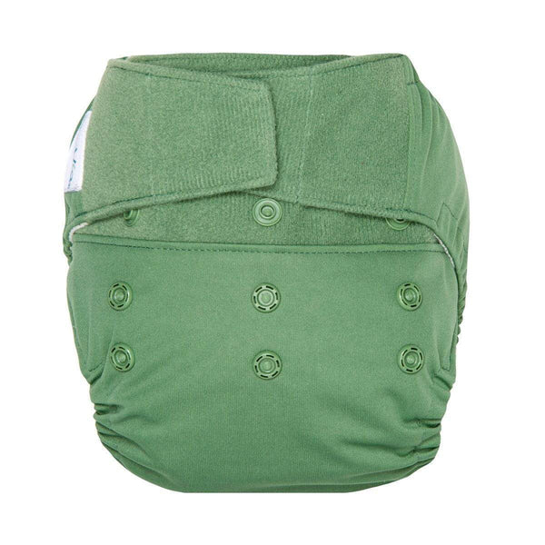 Hybrid Diaper Shell in Basil by Grovia