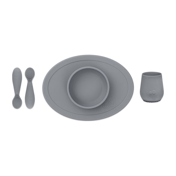 First Foods Set in Gray