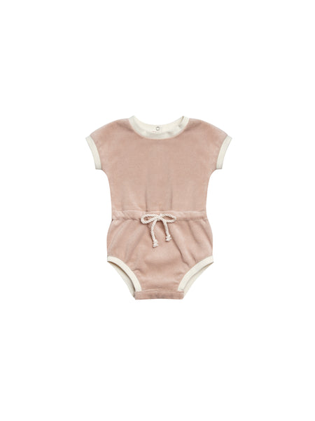 Retro Romper in Petal by Quincy Mae