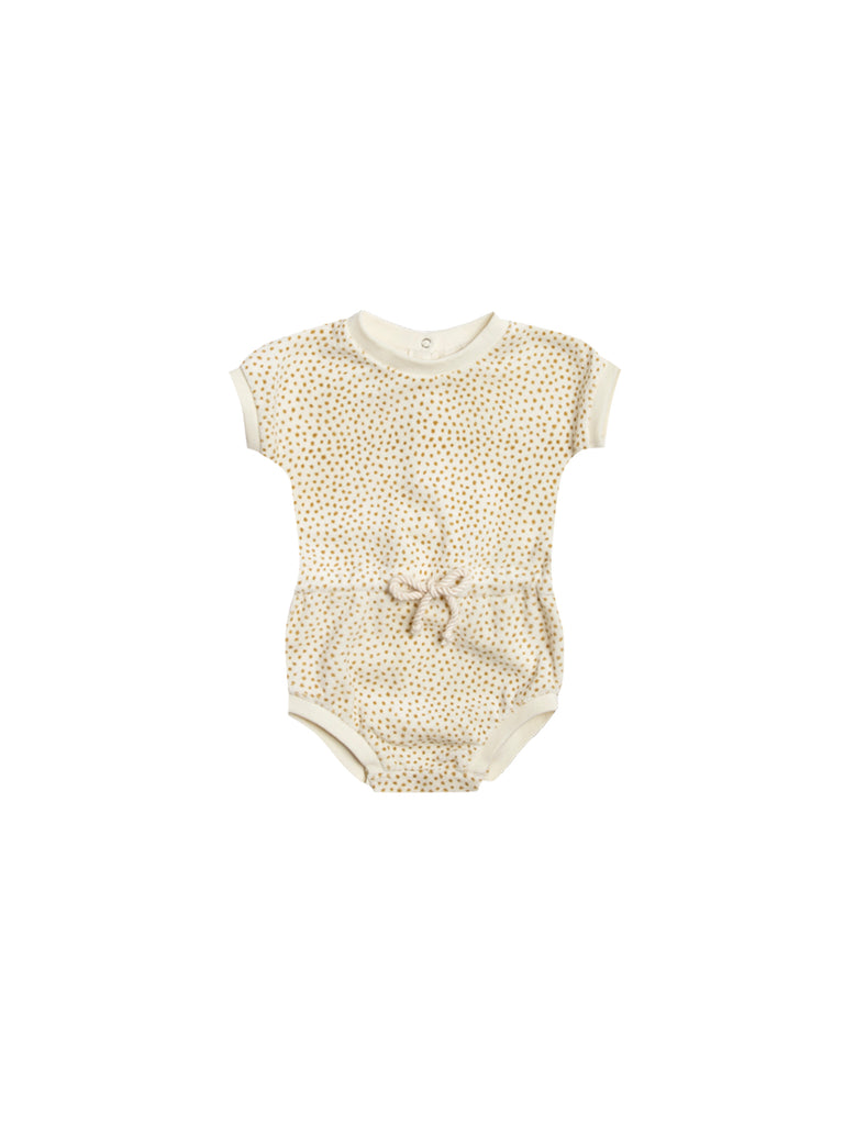 Retro Romper in Ivory by Quincy Mae