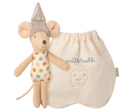 Tooth Fairy Mouse Little in Bag by Maileg