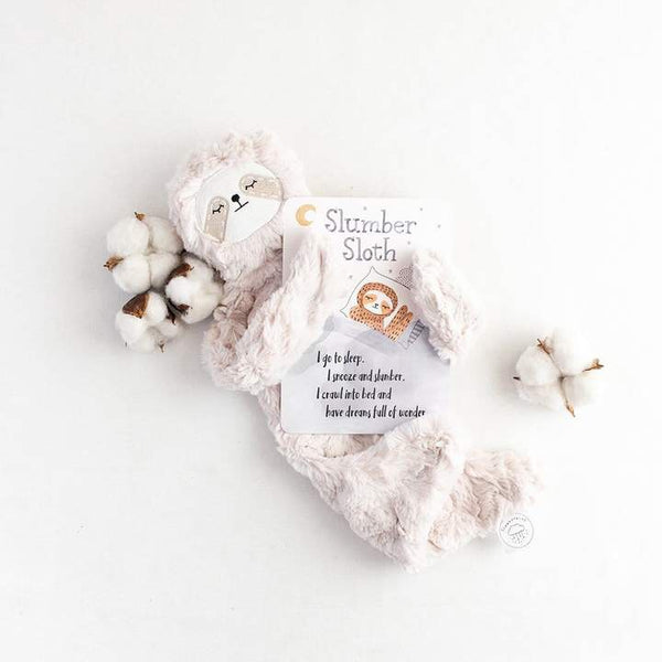 Slumber Sloth Snuggler Bundle by Slumberkins