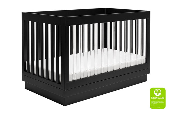 Harlow 3 in 1 Convertible Crib with Toddler Bed Conversion Kit Available in a Variety of Colors