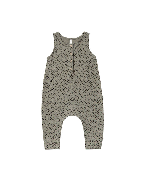Jumpsuit in Micro Dot by Rylee + Cru