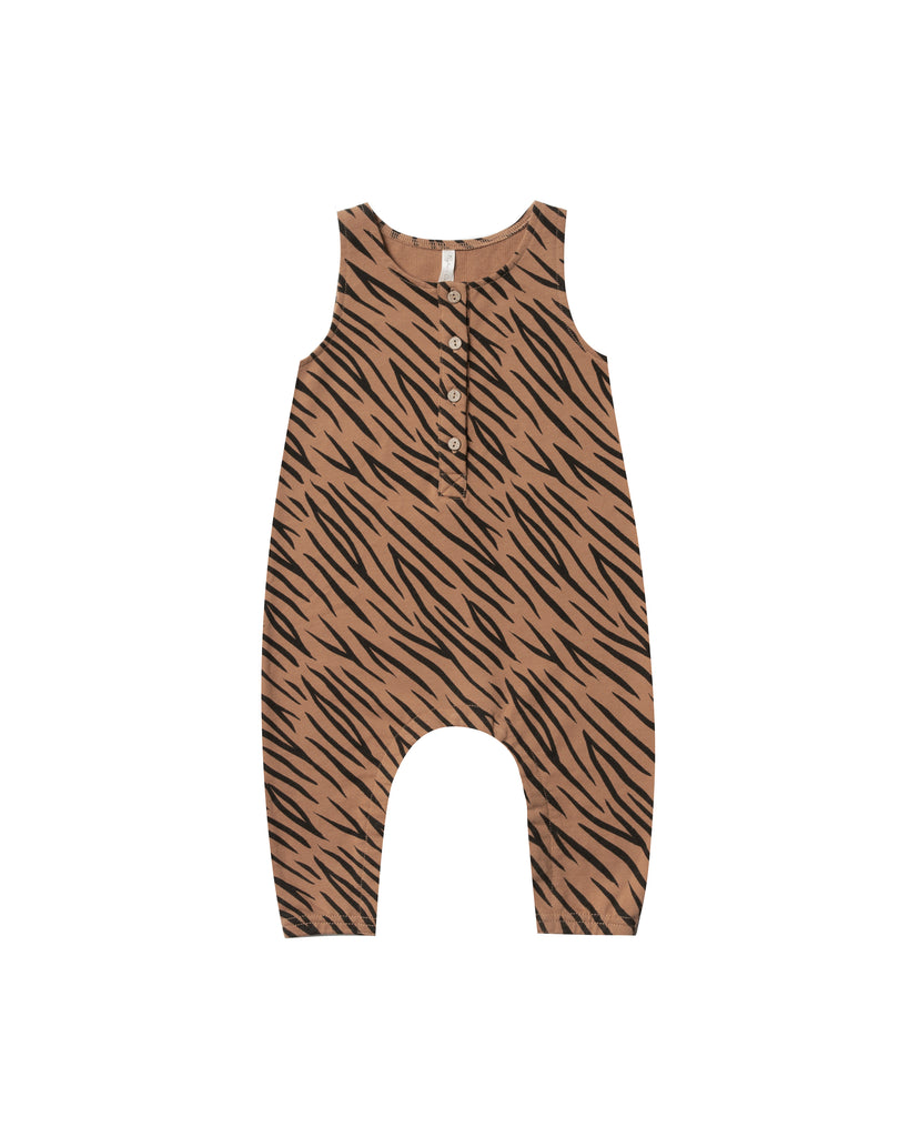 Jumpsuit in Tiger by Rylee + Cru
