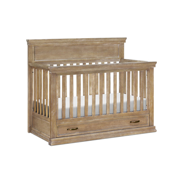 Langford 4-in-1 Convertible Crib in Driftwood