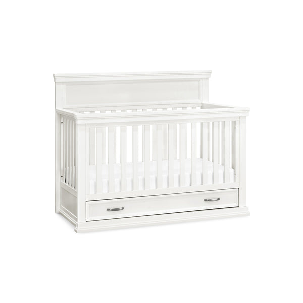 Langford 4-in-1 Convertible Crib in Warm White