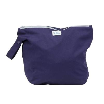 Zippered Wet Bag in Arctic by GroVia