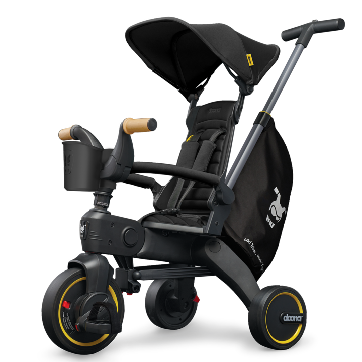Liki Trike S5 in Nitro Black by Doona -