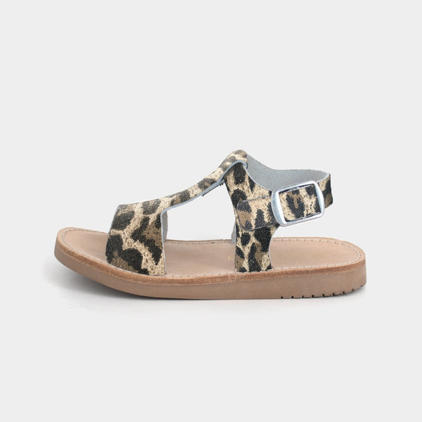 Malibu Sandal in Leopard by Freshly Picked