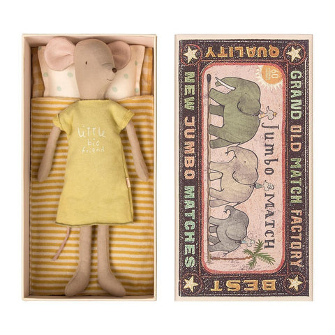 Medium Girl Mouse in Box by Maileg