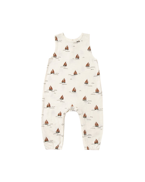 Mills Jumpsuit in Sailboat by Rylee + Cru
