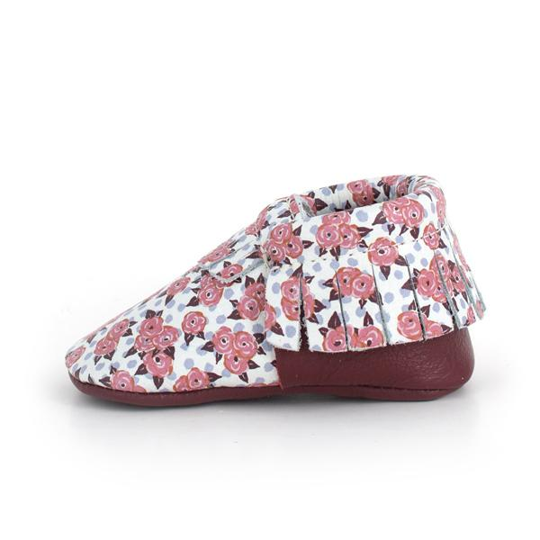Moccasins in Garden Rose by Freshly Picked