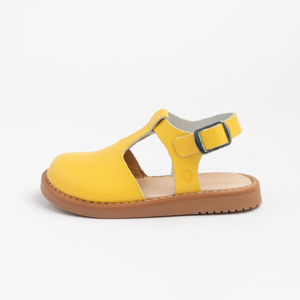 Newport Clog in Yellow by Freshly Picked