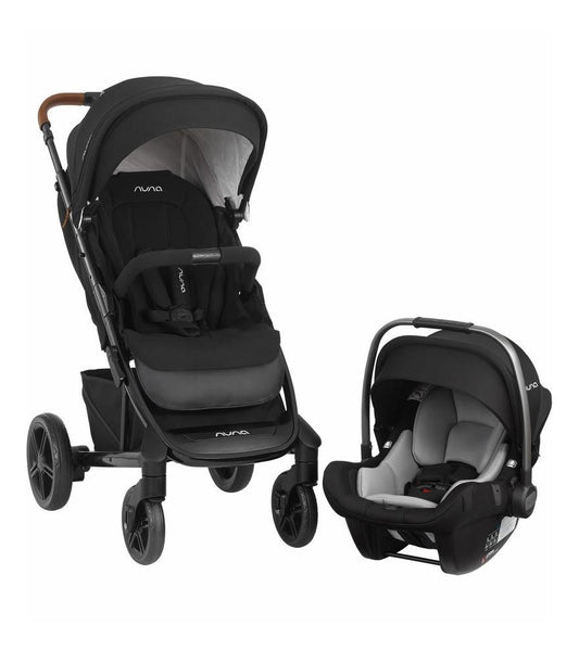 Nuna TAVO™ Next Travel System With PIPA™ Lite LX Infant Car Seat in Caviar