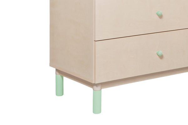 Gelato Crib And Dresser Feet Pack in a Variety of Colors