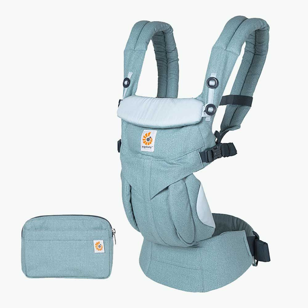 Omni 360 All-In-One in Heritage Blue by Ergobaby