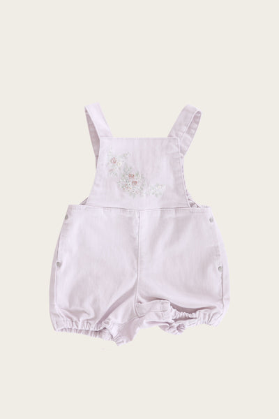 Charlotte Playsuit in Soft Lilac by Jamie Kay
