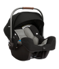 BABYZEN YOYO+ Travel System with Newborn & Toddler Color Pack Fabric Set in Black with Black Frame
