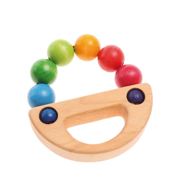 Rainbow Boat Grasping Toy by Grimm's