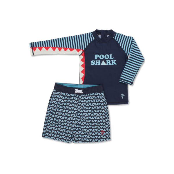 Rashguard Set in Pool Shark
