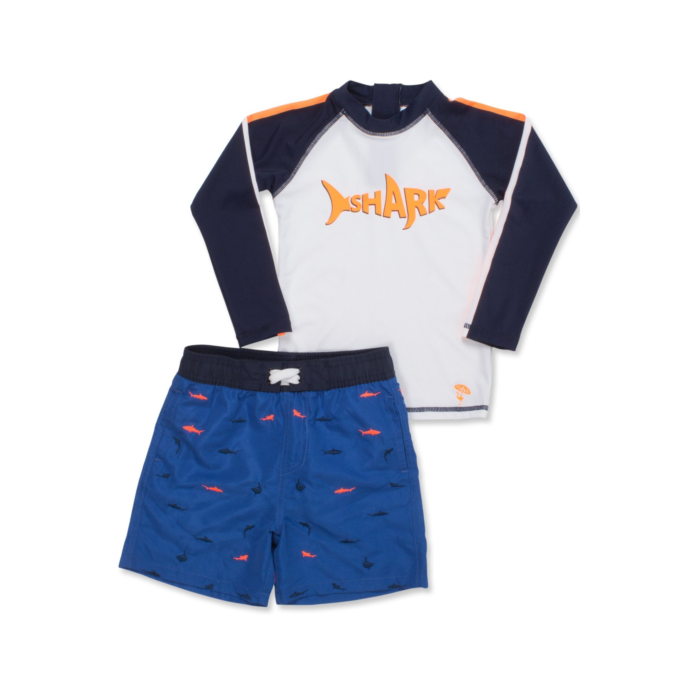 Shade Critters Little Boy Great White Shark One Piece Boys Swimsuit